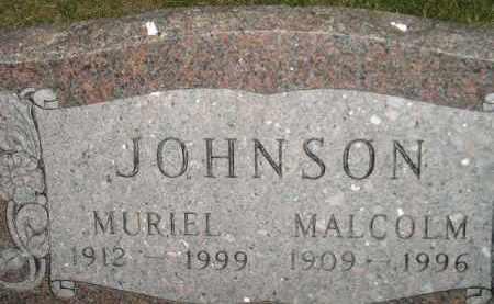 JOHNSON, MALCOM - Miner County, South Dakota | MALCOM JOHNSON - South Dakota Gravestone Photos