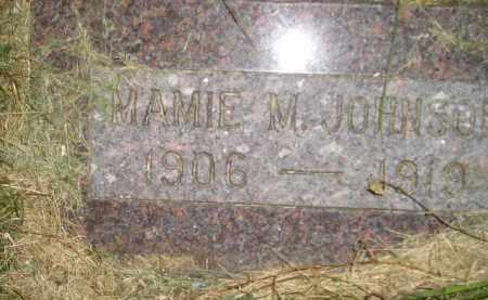 JOHNSON, MAMIE M. - Miner County, South Dakota | MAMIE M. JOHNSON - South Dakota Gravestone Photos