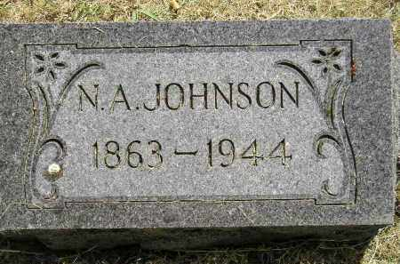 JOHNSON, N.A. - Miner County, South Dakota | N.A. JOHNSON - South Dakota Gravestone Photos