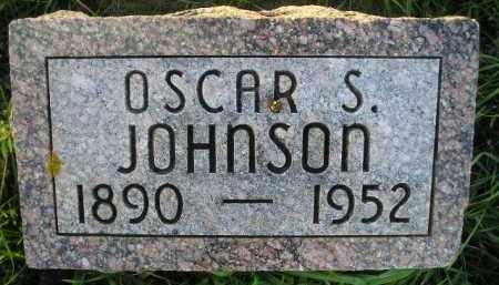 JOHNSON, OSCAR S. - Miner County, South Dakota | OSCAR S. JOHNSON - South Dakota Gravestone Photos