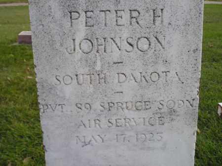 JOHNSON, PETER H. - Miner County, South Dakota | PETER H. JOHNSON - South Dakota Gravestone Photos