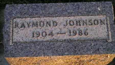JOHNSON, RAYMOND - Miner County, South Dakota | RAYMOND JOHNSON - South Dakota Gravestone Photos