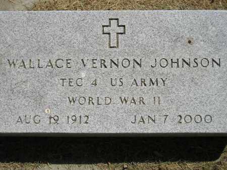 JOHNSON, WALLACE VERNON - Miner County, South Dakota | WALLACE VERNON JOHNSON - South Dakota Gravestone Photos