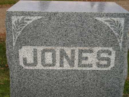 JONES, FAMILY STONE - Miner County, South Dakota | FAMILY STONE JONES - South Dakota Gravestone Photos