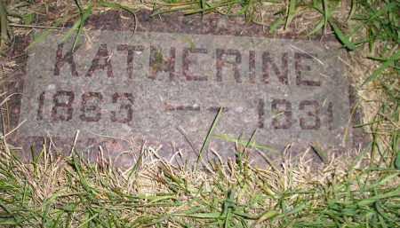 JONES, KATHERINE - Miner County, South Dakota   KATHERINE JONES - South Dakota Gravestone Photos