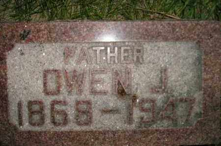 JONES, OWEN J. - Miner County, South Dakota   OWEN J. JONES - South Dakota Gravestone Photos