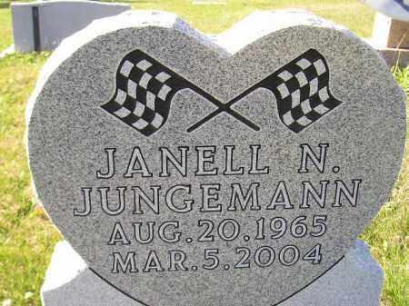 JUNGEMANN, JANELL N. - Miner County, South Dakota | JANELL N. JUNGEMANN - South Dakota Gravestone Photos