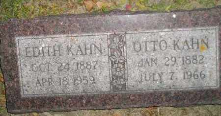 KAHN, EDITH - Miner County, South Dakota | EDITH KAHN - South Dakota Gravestone Photos