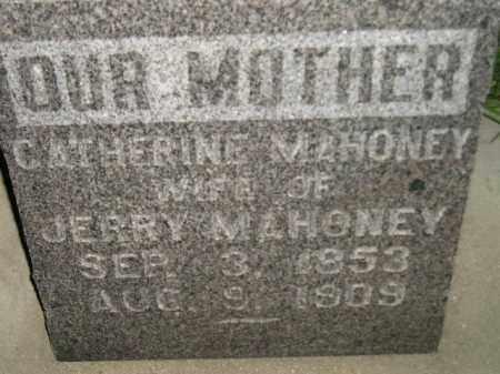 MAHONEY, CATHERINE - Miner County, South Dakota | CATHERINE MAHONEY - South Dakota Gravestone Photos