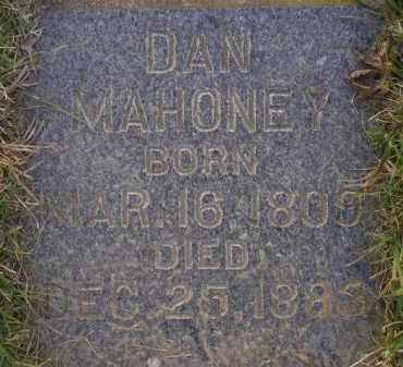 MAHONEY, DAN - Miner County, South Dakota | DAN MAHONEY - South Dakota Gravestone Photos