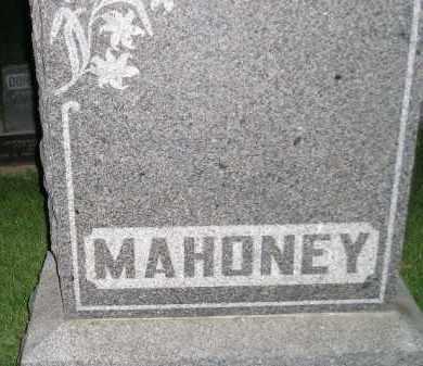 MAHONEY, FAMILY STONE - Miner County, South Dakota   FAMILY STONE MAHONEY - South Dakota Gravestone Photos