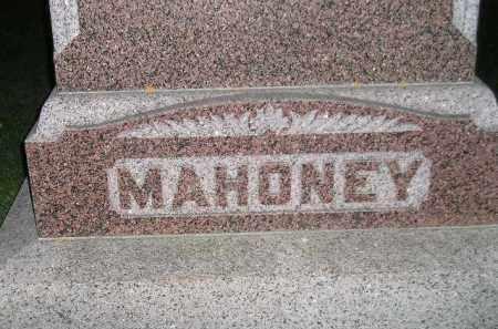 MAHONEY, FAMILY STONE - Miner County, South Dakota | FAMILY STONE MAHONEY - South Dakota Gravestone Photos