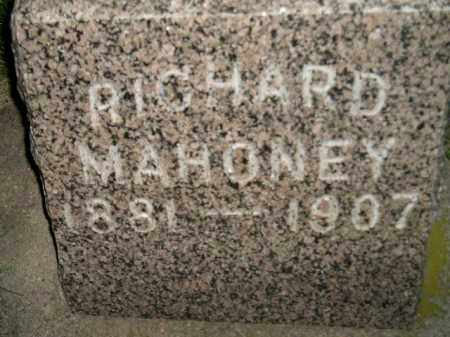MAHONEY, RICHARD - Miner County, South Dakota | RICHARD MAHONEY - South Dakota Gravestone Photos