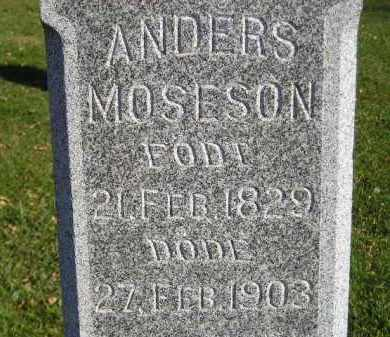 MOSESON, ANDERS - Miner County, South Dakota | ANDERS MOSESON - South Dakota Gravestone Photos