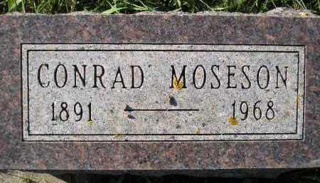 MOSESON, CONRAD - Miner County, South Dakota | CONRAD MOSESON - South Dakota Gravestone Photos