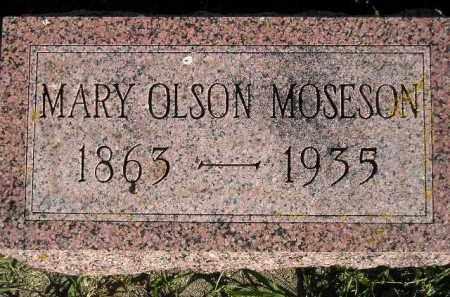 MOSESON, MARY - Miner County, South Dakota | MARY MOSESON - South Dakota Gravestone Photos