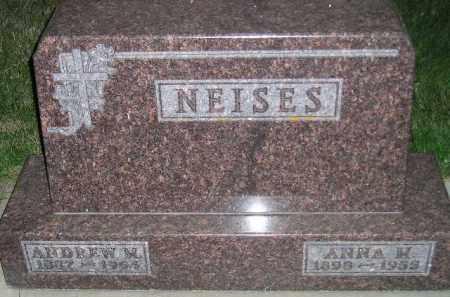 NEISES, ANDREW MATHEW - Miner County, South Dakota | ANDREW MATHEW NEISES - South Dakota Gravestone Photos