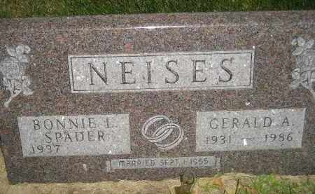 NEISES, GERALD A. - Miner County, South Dakota | GERALD A. NEISES - South Dakota Gravestone Photos