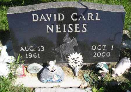 NEISES, DAVID CARL - Miner County, South Dakota   DAVID CARL NEISES - South Dakota Gravestone Photos