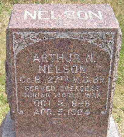 NELSON, ARTHUR N. - Miner County, South Dakota | ARTHUR N. NELSON - South Dakota Gravestone Photos