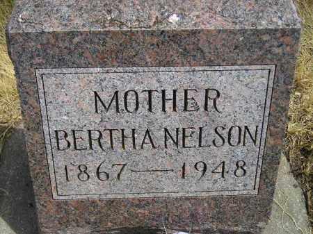 NELSON, BERTHA - Miner County, South Dakota   BERTHA NELSON - South Dakota Gravestone Photos