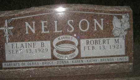 NELSON, ELAINE B. - Miner County, South Dakota   ELAINE B. NELSON - South Dakota Gravestone Photos