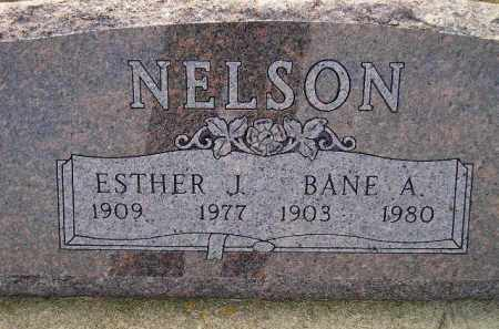 NELSON, ESTHER J. - Miner County, South Dakota   ESTHER J. NELSON - South Dakota Gravestone Photos