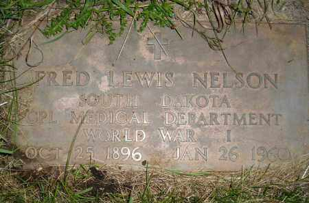 NELSON, FRED LEWIS - Miner County, South Dakota | FRED LEWIS NELSON - South Dakota Gravestone Photos