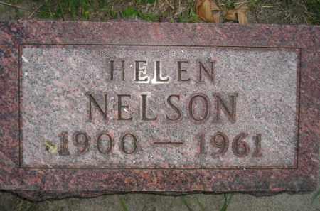 NELSON, HELEN - Miner County, South Dakota   HELEN NELSON - South Dakota Gravestone Photos