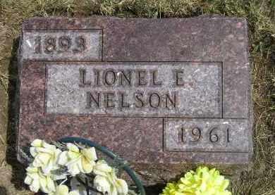 NELSON, LIONEL E. - Miner County, South Dakota | LIONEL E. NELSON - South Dakota Gravestone Photos