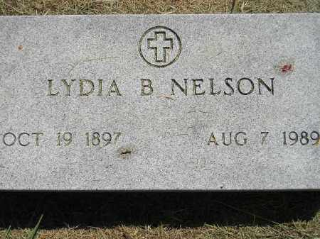 NELSON, LYDIA B. - Miner County, South Dakota | LYDIA B. NELSON - South Dakota Gravestone Photos