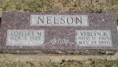 NELSON, LORELEE M. - Miner County, South Dakota   LORELEE M. NELSON - South Dakota Gravestone Photos