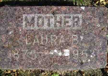 NELSON, LAURA B. - Miner County, South Dakota | LAURA B. NELSON - South Dakota Gravestone Photos