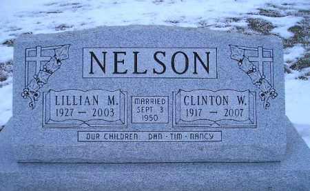 NELSON, CLINTON W. - Miner County, South Dakota | CLINTON W. NELSON - South Dakota Gravestone Photos