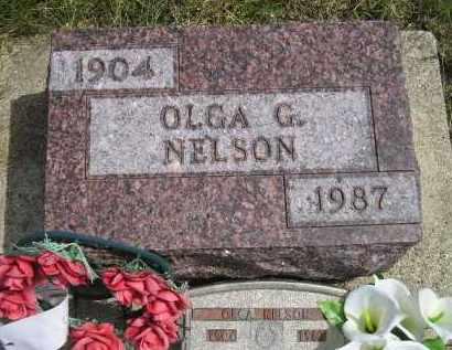 NELSON, OLGA G. - Miner County, South Dakota | OLGA G. NELSON - South Dakota Gravestone Photos