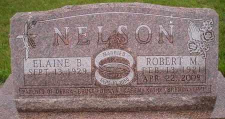 NELSON, ROBERT MERLE - Miner County, South Dakota | ROBERT MERLE NELSON - South Dakota Gravestone Photos