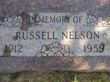 NELSON, RUSSELL - Miner County, South Dakota | RUSSELL NELSON - South Dakota Gravestone Photos