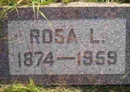 NELSON, ROSA L. - Miner County, South Dakota | ROSA L. NELSON - South Dakota Gravestone Photos
