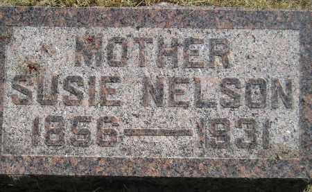 NELSON, SUSIE - Miner County, South Dakota | SUSIE NELSON - South Dakota Gravestone Photos