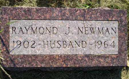 NEWMAN, RAYMOND J. - Miner County, South Dakota | RAYMOND J. NEWMAN - South Dakota Gravestone Photos