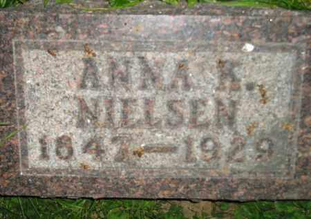 NIELSEN, ANNA K. - Miner County, South Dakota | ANNA K. NIELSEN - South Dakota Gravestone Photos