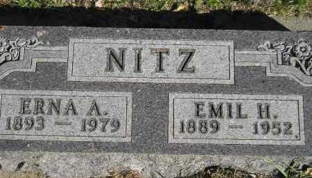 NITZ, ERNA A. - Miner County, South Dakota | ERNA A. NITZ - South Dakota Gravestone Photos