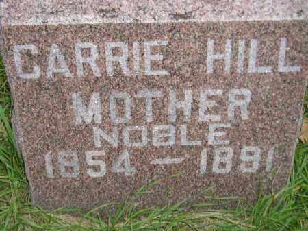 NOBLE, CARRIE - Miner County, South Dakota   CARRIE NOBLE - South Dakota Gravestone Photos
