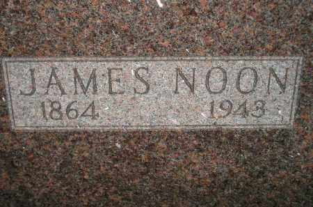 NOON, JAMES - Miner County, South Dakota   JAMES NOON - South Dakota Gravestone Photos