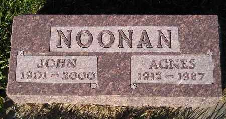 NOONAN, AGNES - Miner County, South Dakota | AGNES NOONAN - South Dakota Gravestone Photos