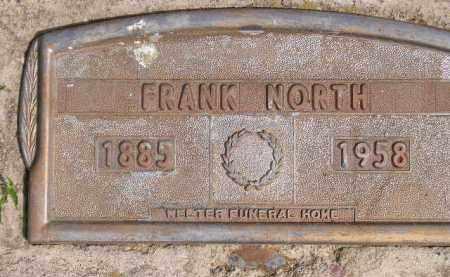 NORTH, FRANK - Miner County, South Dakota   FRANK NORTH - South Dakota Gravestone Photos