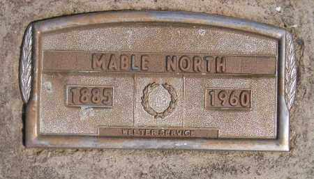 NORTH, MABLE - Miner County, South Dakota | MABLE NORTH - South Dakota Gravestone Photos