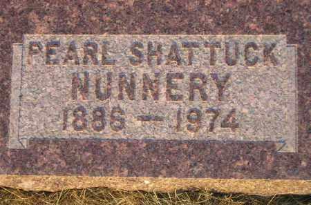 NUNNERY, PEARL - Miner County, South Dakota | PEARL NUNNERY - South Dakota Gravestone Photos