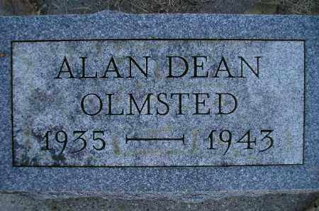 OLMSTED, ALAN DEAN - Miner County, South Dakota | ALAN DEAN OLMSTED - South Dakota Gravestone Photos