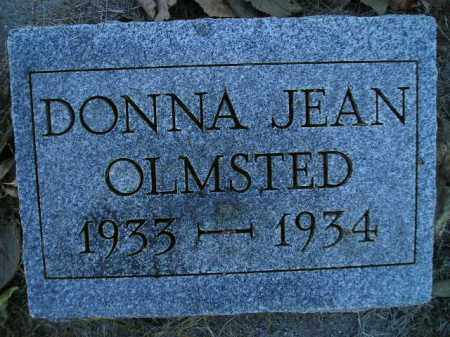 OLMSTED, DONNA JEAN - Miner County, South Dakota   DONNA JEAN OLMSTED - South Dakota Gravestone Photos